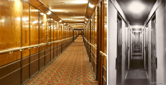 Queen Mary Corridor | Hindenburg Corridor