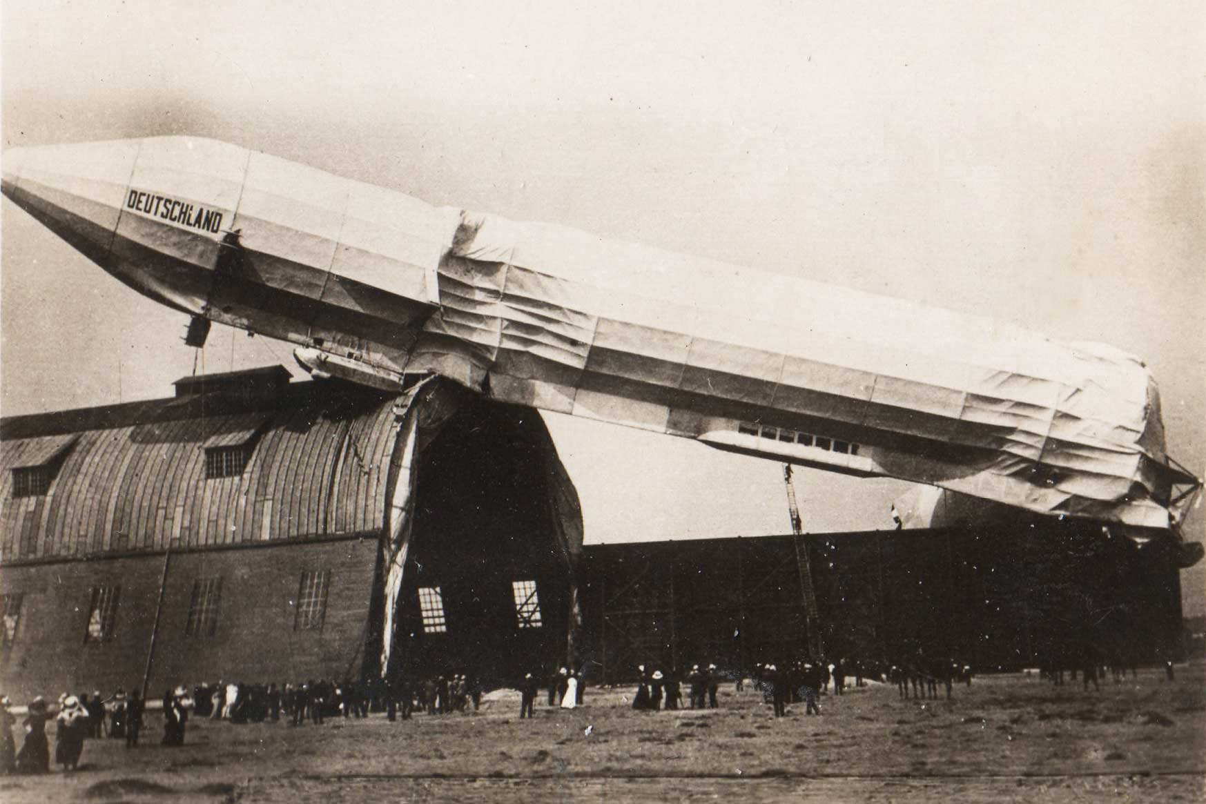 LZ-8 Deutschland Accident - May 16, 1911