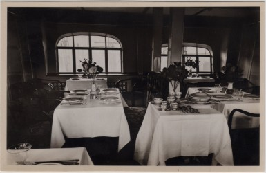 Lounge and Dining Area on Graf Zeppelin