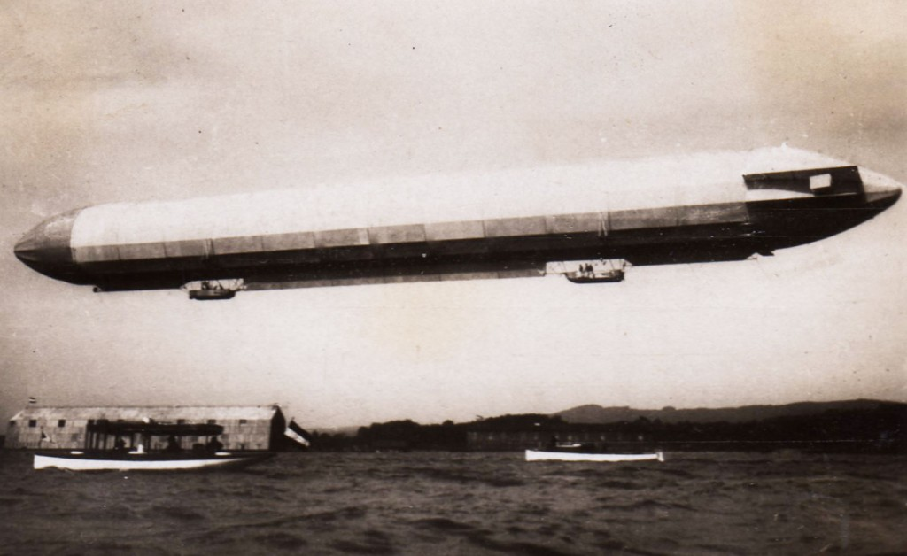 LZ-3 in flight