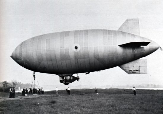 First flight of Pilgrim, 1925