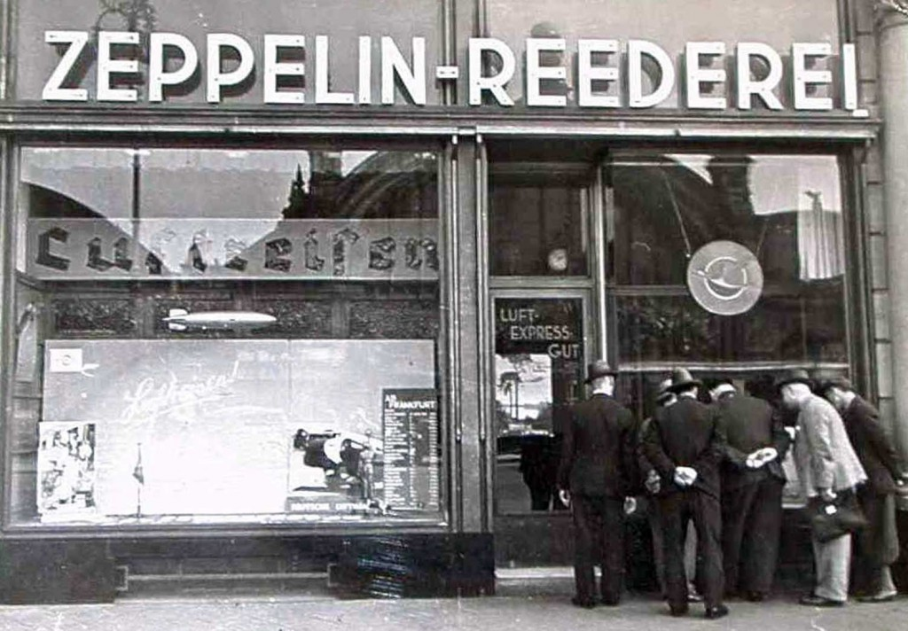 Deutsche Zeppelin-Reederei office in Frankfurt